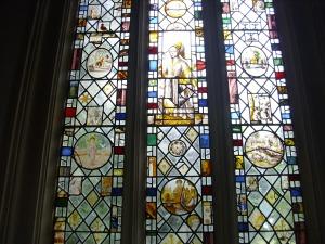 flemish glass in south aisle june 09 diddington
