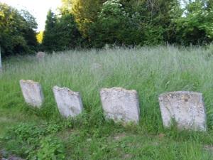 stones in GP churchyard