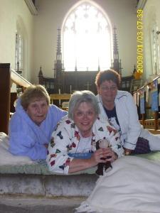 three ladies in gp church june 2nd