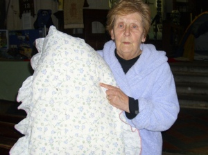 val and her pillow no 2