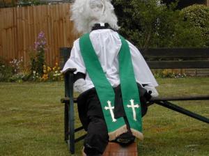 vicar scarecrow