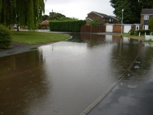 more rain water