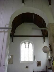 aug 26th 09 day 11 - saxon arch into north transept