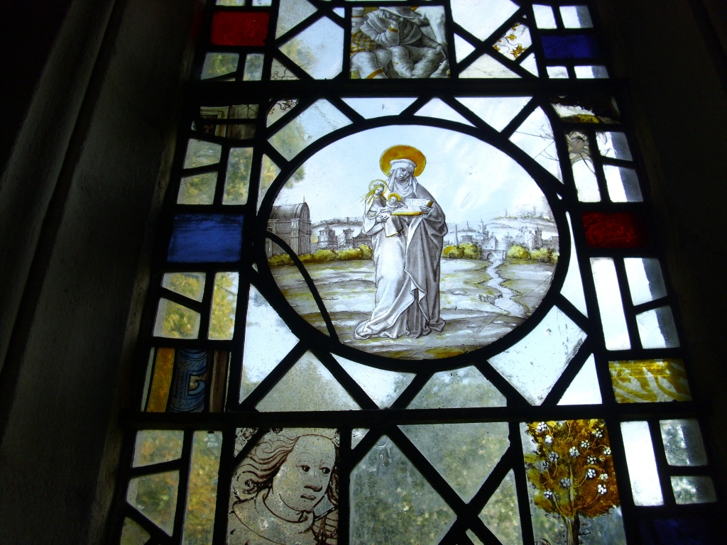 August 15th 09 - east window - St Anne