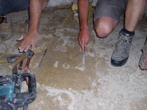 Day 2 August 13th - stone slab 164