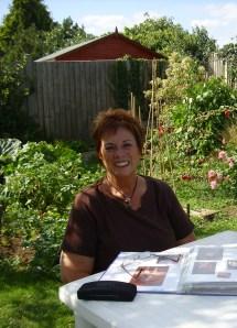 helen august 26th 09 in garden