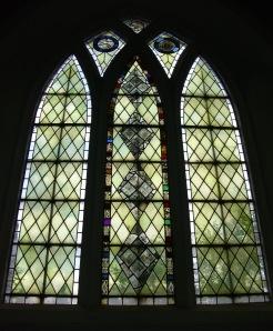 medieval fragments window