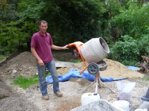 sept 15th with glenn and poorly concrete mmixture