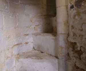 stairs to rood loft