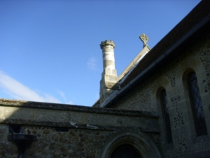 toseland church chimney pot aug 31st 09