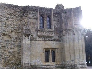 close up of gatehouse