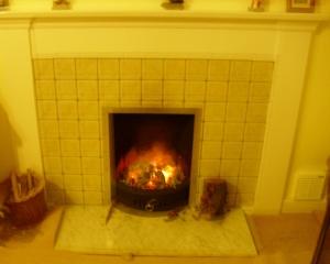home fires burnng