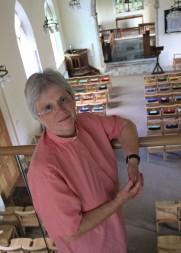 Annette on ringing floor